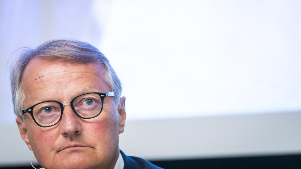 <p><b>VIKTIG:</b> Konsernsjef Rune Bjerke synes det er positivt at det er oppmerksomhet rundt temaet hvitvasking.</p>