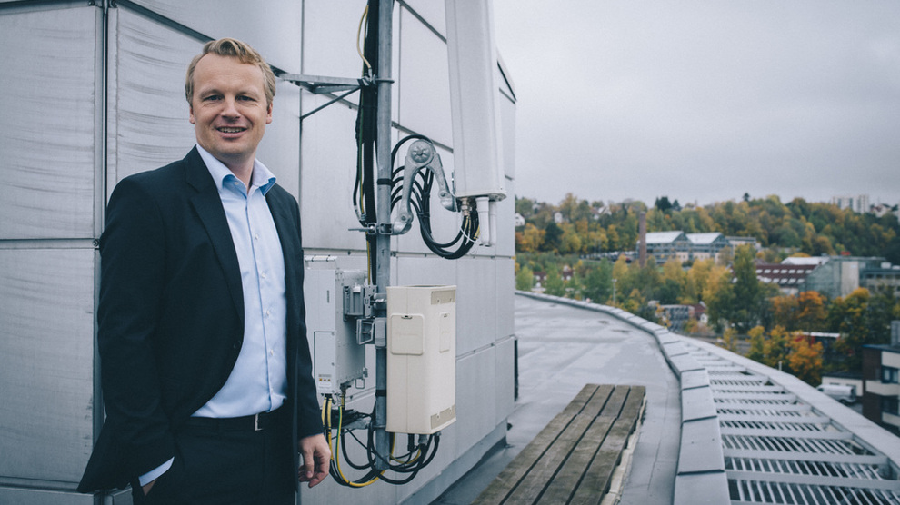 Jon Christian Hillestad, leder for Telia Bedrift