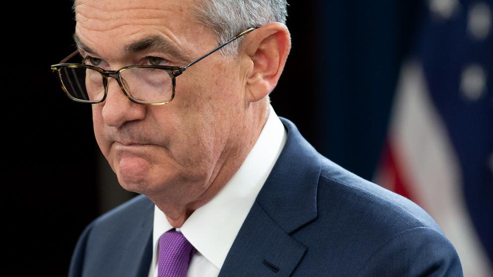 <p>USAs sentralbanksjef Jerome Powell.</p>