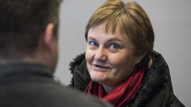 <p><b>NATURLIG Å UTREDE:</b> Finanspolitisk talsperson i Ap, Rigmor Aasrud, mener det er helt naturlig å be Finansdepartementet utrede et forbud mot at Oljefondet investerer i spillselskaper som ikke har lov til å operere i Norge.</p>
