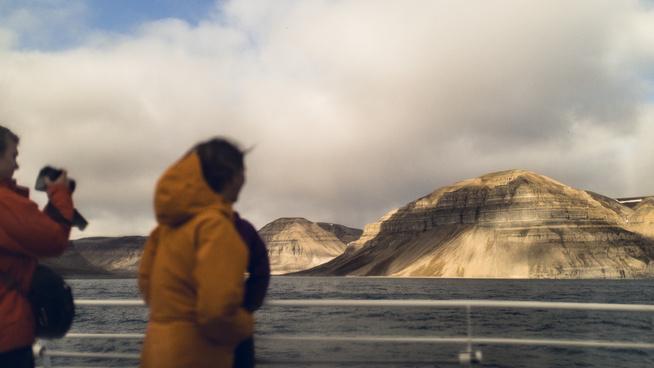 <p><b>VIKTIG NÆRING:</b> Reiseliv er blitt den største næringen på Svalbard.</p>