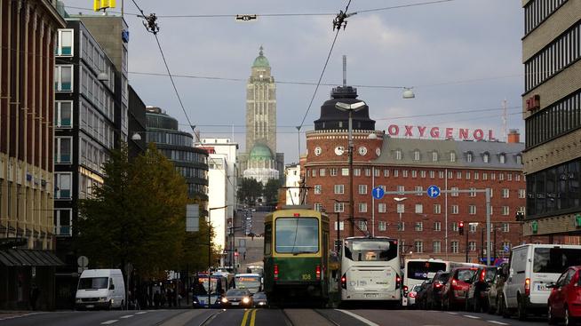 <p><b>GULLGRUVE:</b> Geir Kristiansen i Beringer mener veksten til norske forbrukslånsbanker i Finland blir viktigere enn veksten her hjemme. Bildet viser Kallio-katedralen i hovedstaden Helsinki.</p>