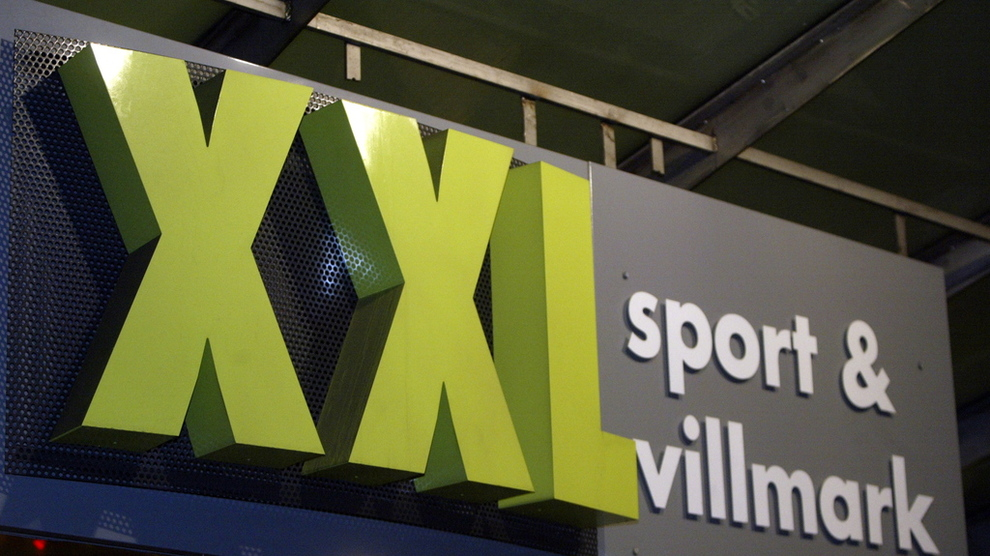 Oslo 20030120 Logoer / skilter i Oslo. XXL sport & villmark. Sportsbutikk – butikkjede. Foto: Knut Falch / SCANPIX