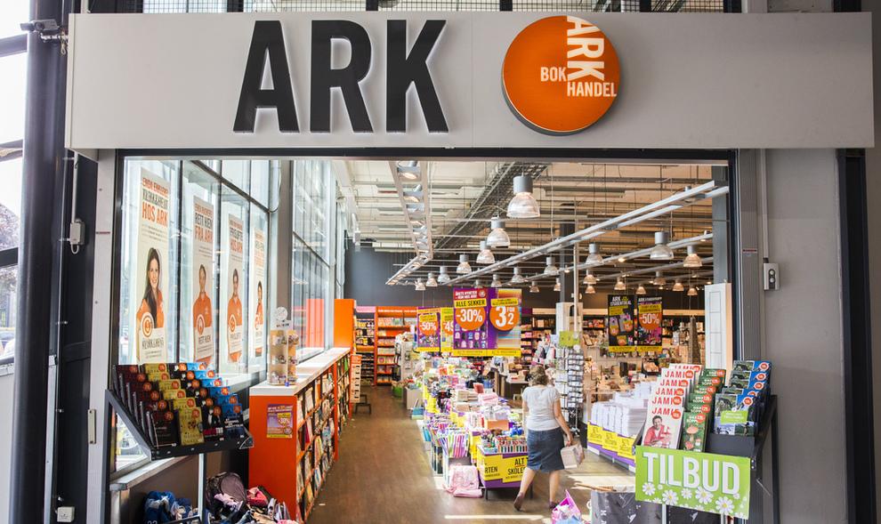 <p><b>RESULTATFALL</b>: Omsetningen økte, men bokhandelen Ark satt igjen med 8 millioner mindre i fjor enn året før.</p>
