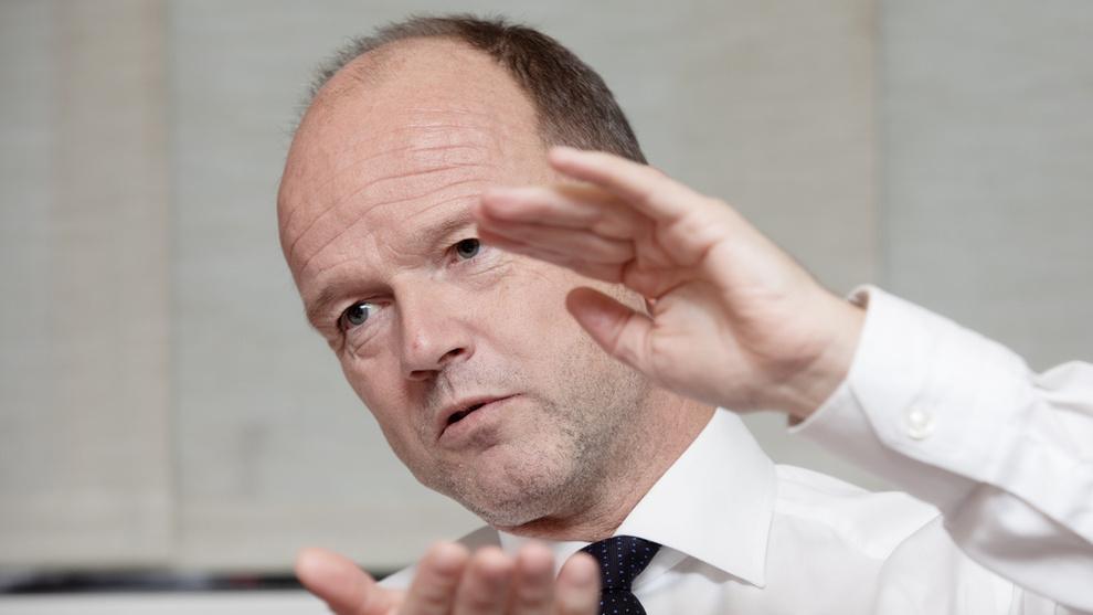 <p><b>STILLER KRAV:</b> Fungerende NHO-sjef Ole Erik Almlid sier han ikke plages av vonde statsbudsjett-drømmer, men poengterer viktigheten av ikke å gå tilbake på skattekuttene.</p>