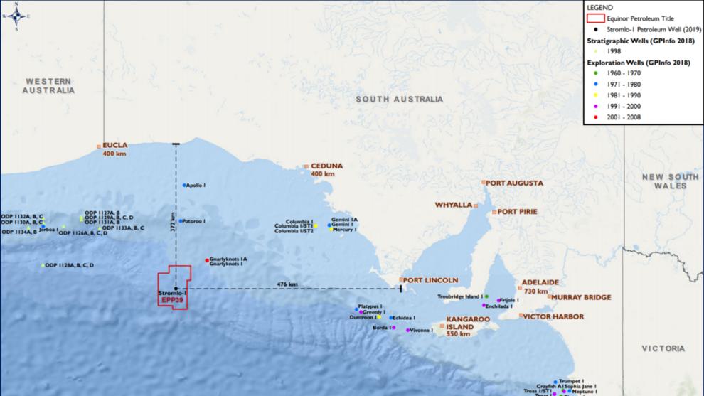 <p>LETEBORING: Equinor har levert miljøplanen før den planlagte oljeletingen i Australia.</p>