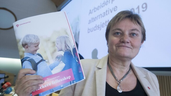 <p>VIL STYRKE KOMMUNEØKONOMIEN VIDERE: Arbeiderpartiets Rigmor Aasrud avfeier kritikken fra Høyre og ber heller partiet styrke kommuneøkonomien.</p>