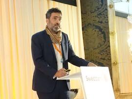 <p><b>VERDENS STØRSTE:</b> Romain Dessroseaux er nestsjef i det franske fornybarselskapet Neoen, som driver verdens største batteri i Frankrike.</p>