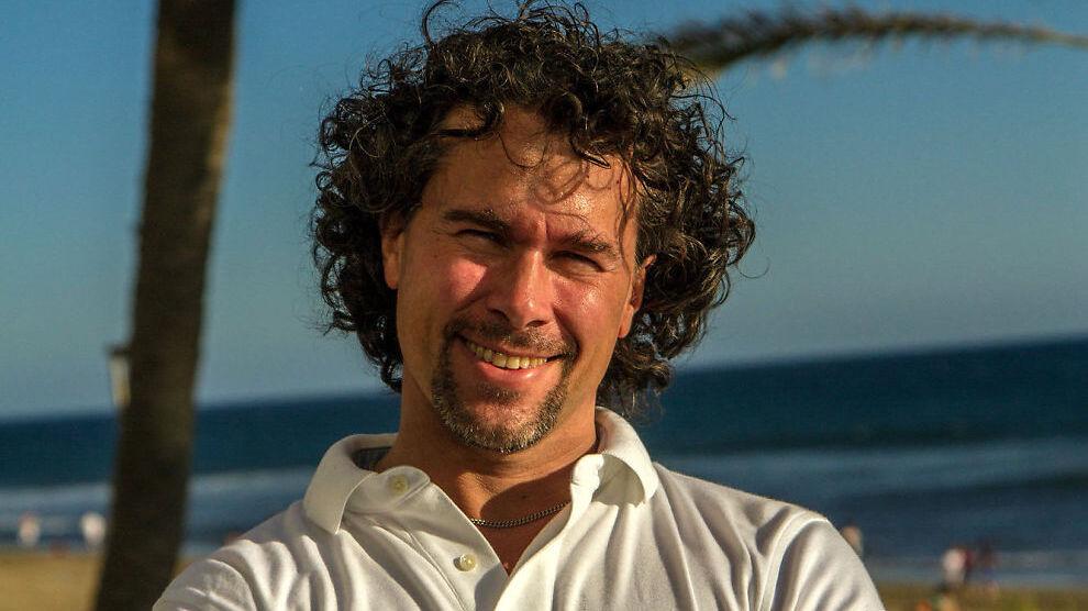 <p><b>SMIL FOR EN GOD DEAL:</b> Datagründer André Eidskrem håper på å innkassere en gullkantet belønning for en 20 år gammel investering.</p>