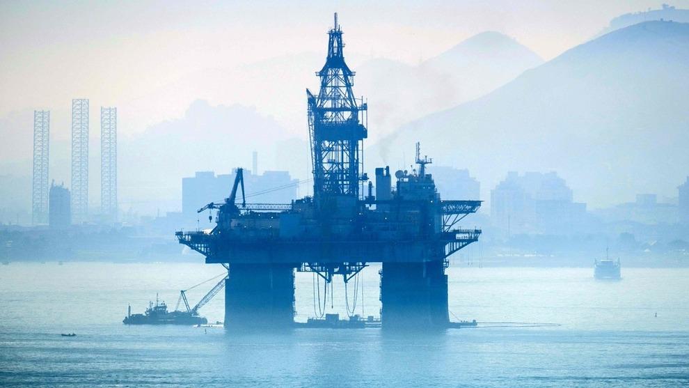 <p>Illustrasjonsbilde av en oljeplattform i Guanabara-bukten i Rio de Janeiro.</p>