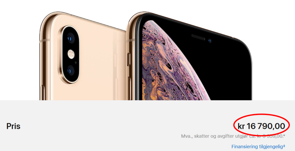 0037a855 Dollarsmell for norske iPhone-kunder - Apple - Digital - E24
