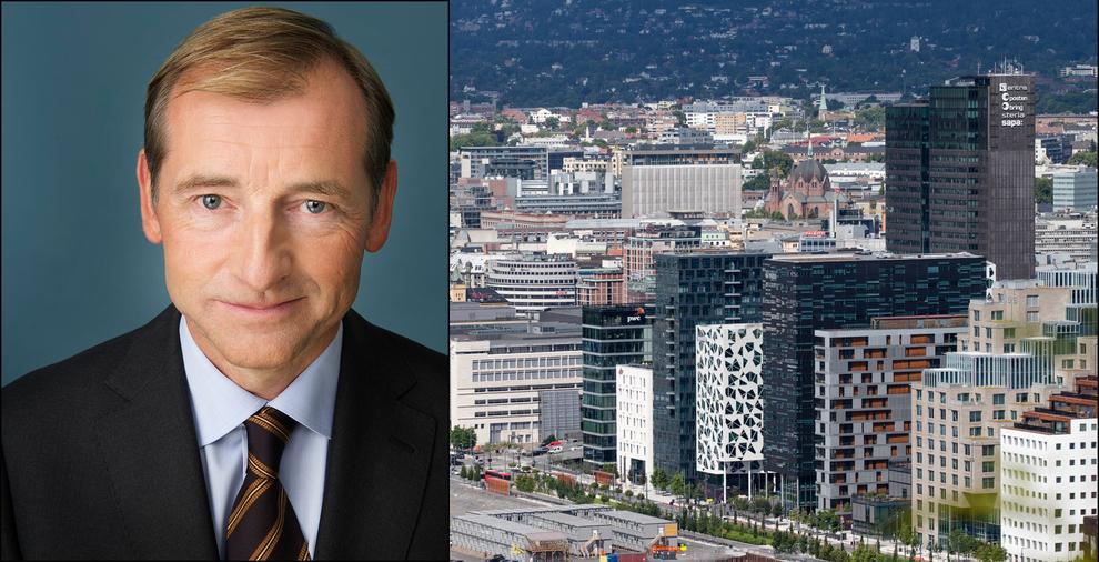 HETT MARKED: Carl O. Geving, administrerende direktør i NEF håper at uendret rente fra Norges Bank kan dempe et opphetet boligmarked i Oslo.