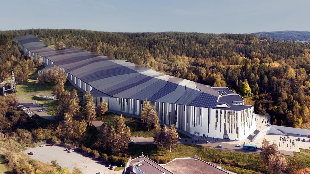 <p><b>STORT OG DYRT:</b> Skihallen skal bli på 40.000 kvadratmeter og har en total kostnadsramme på 3,5 milliarder kroner.</p>