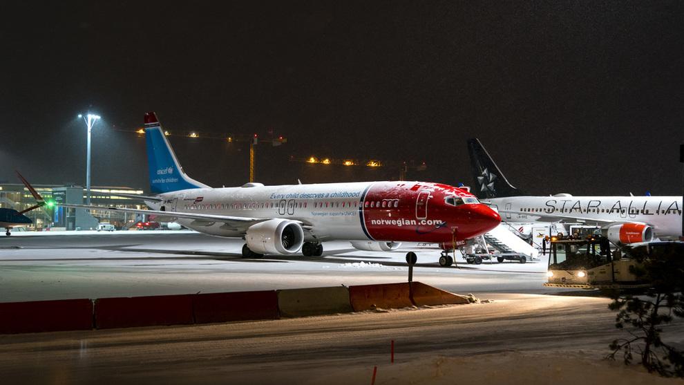 <p><b>PARKERT:</b> Norwegian har besluttet å sette sine 18 fly av typen flytypen Boeing 737 MAX 8 på bakken.</p>