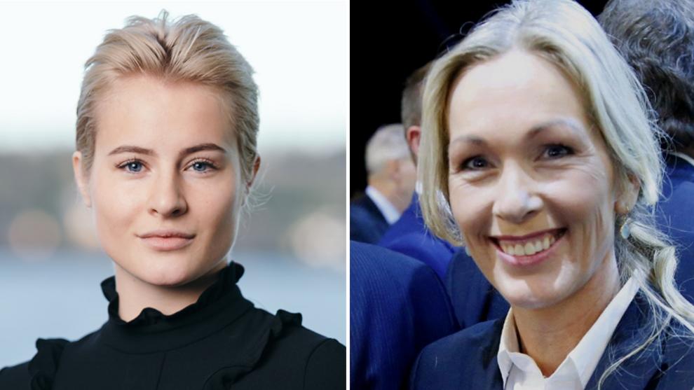 <p><b>LEDERFORBILDET:</b> Ferd-arving Katharina Andresen (t.v.) har fått deltidsstilling i Innovasjon Norge, hvor hennes forbilde Anita Krohn Traaseth er administrerende direktør (t.h.).</p>