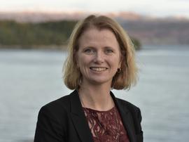 <p>Daglig leder i NCE Maritime CleanTech Hege Økland.</p>