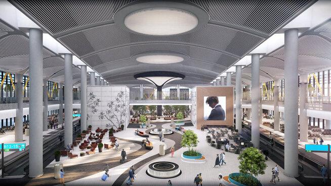 <p><b>200 MILLIONER:</b> Med en mulig kapasitet på 200 millioner reisende, kan flyplassen bli en av verdens travleste.</p>