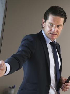 VEKST: Kjetil Olsen, sjeføkonom i Nordea, tror at rentene vil settes opp i Europa.