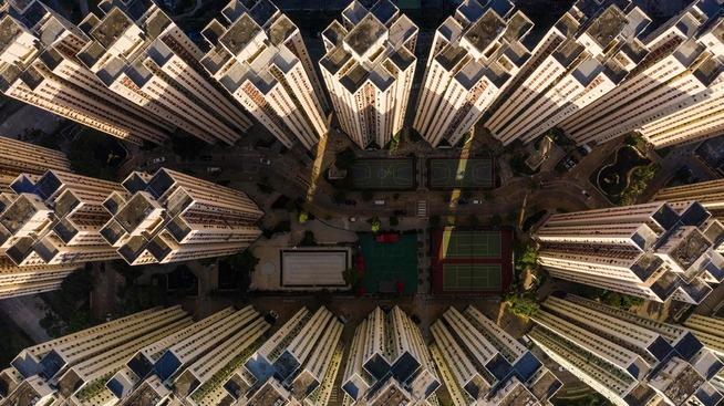 <p><b>TETTBYGD</b>: Hongkong er en av verdens tettest befolkede byer. Det har gitt boligkrise.</p>