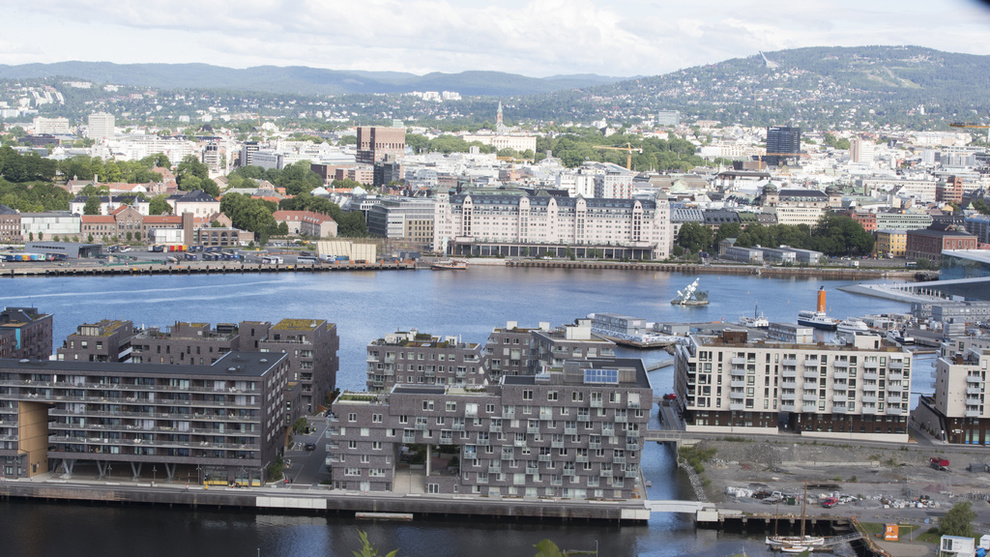 <p>NEDGANG: Boligprisene i Oslo faller for tredje måned på rad.</p>