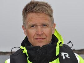 <p><b>FORNØYD MED SANDBERG:</b> Konsernsjef i Salmar, Olav-Andreas Ervik mener Per Sandberg var folkelig og tilgjengelig.</p>
