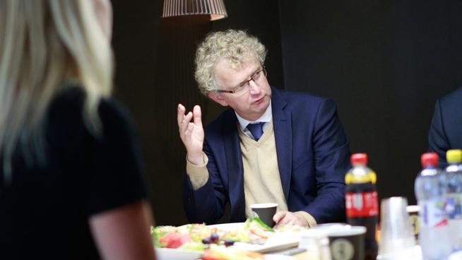 <p>Sjeføkonom Jan Ludvig Andreassen i Eika.</p>