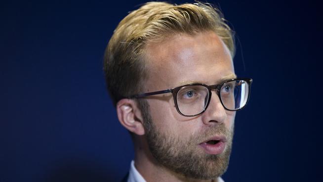 <p>Nikolai Astrup (H), leder av Storstingets transportkomité.</p>