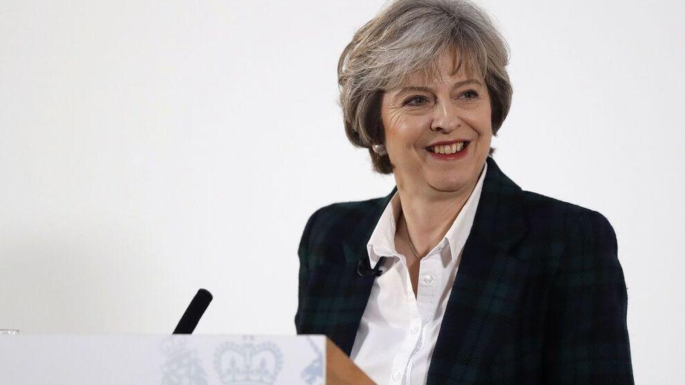 <p>POSITIV: Theresa May holdt tale om planen for uttrekning fra EU i dag, og hun virker i overkant optimistisk på flere punkter, mener UiO-forsker.</p>