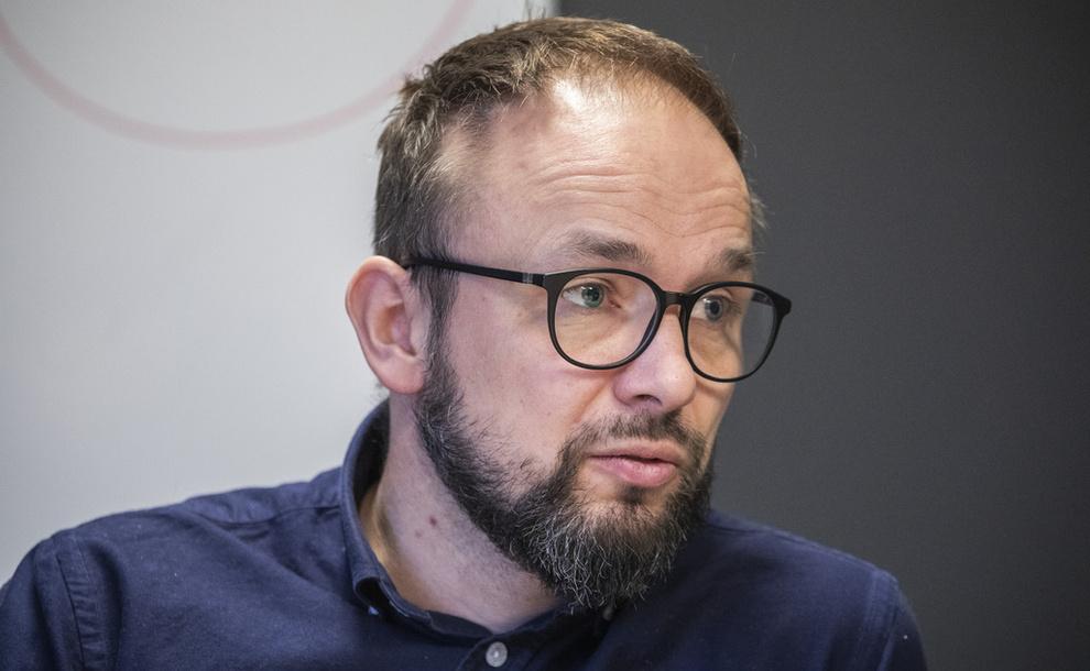 <p><b>FJERNET FORBRUKSLÅN-KNAPP:</b> Lendo-direktør Ådne Skjelstad sier de valgte å «tone ned det kommersielle» på nettsider som skal informere om gjeldsregisteret.</p>