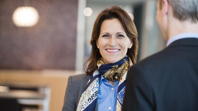 Leder for KPMGs rådgivningsavdeling innen klima og bærekraft, Anette Rønnov.