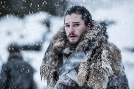 <p><b>GAME OF THRONES:</b> Kit Harington som Jon Snow i HBO-serien Game of Thrones. HBO eies av AT&amp;T, hvor Oljefondet er blant eierne.</p>