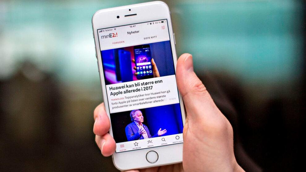 <p><b>SISTE:</b> Med minE24 på din mobil får du full oversikt over nyhetsbildet.</p>