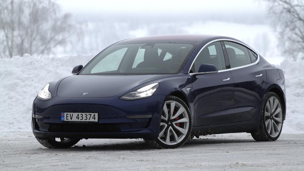 8a9f1ca1 Tesla Model 3 ble den nest mest solgte modellen i februar - Elbil ...