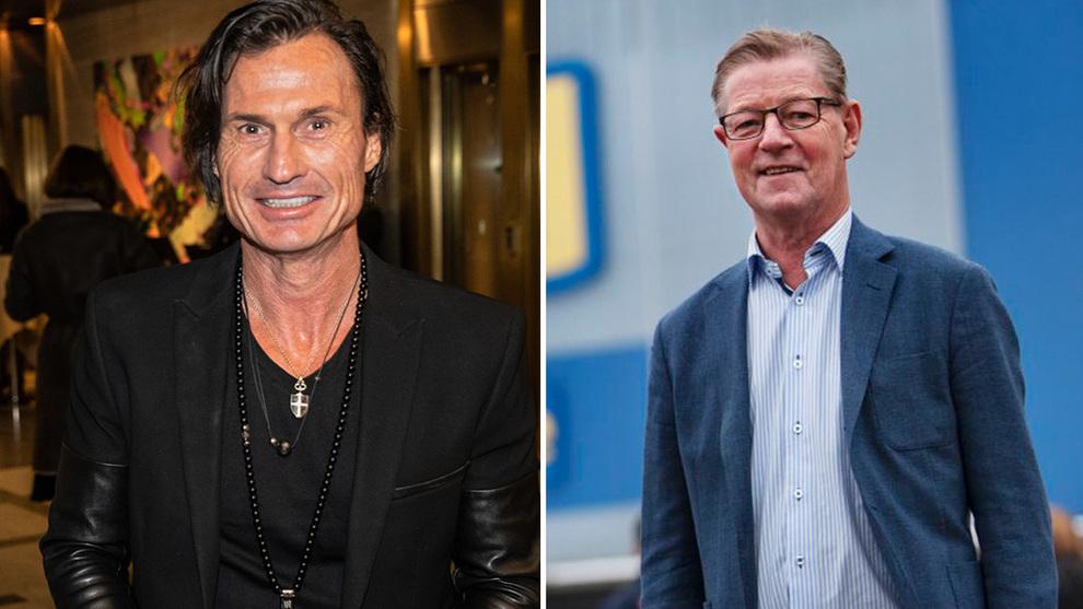<p>Petter Stordalen og Boris Lennerhov, sjef for Gekås Ullared.</p>