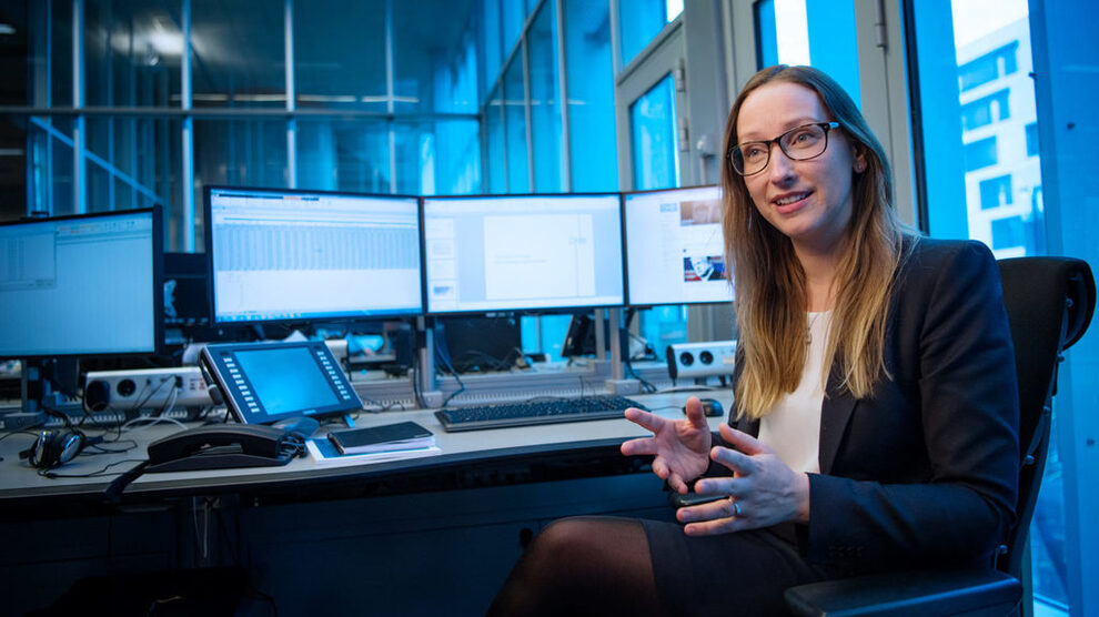 <p><b>BUDSJETT-KRITIKK</b>: Sjeføkonom Kjersti Haugland i DNB og DNB Markets mener Regjeringen kunne gjort mer enn å gå for et nøytralt budsjett.</p>