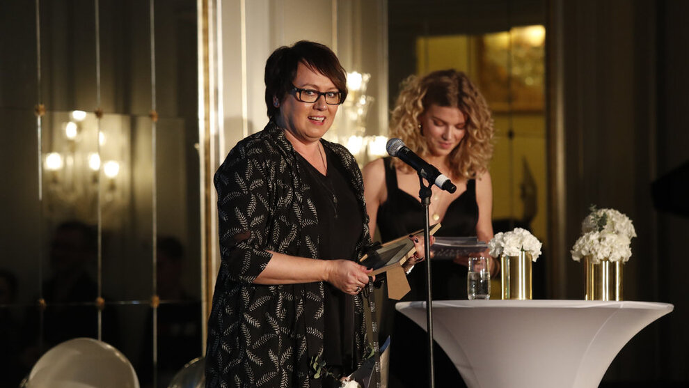 <p>Trine Sandberg fikk i fjor prisen «årets business» under Vixen Influencer Awards</p>