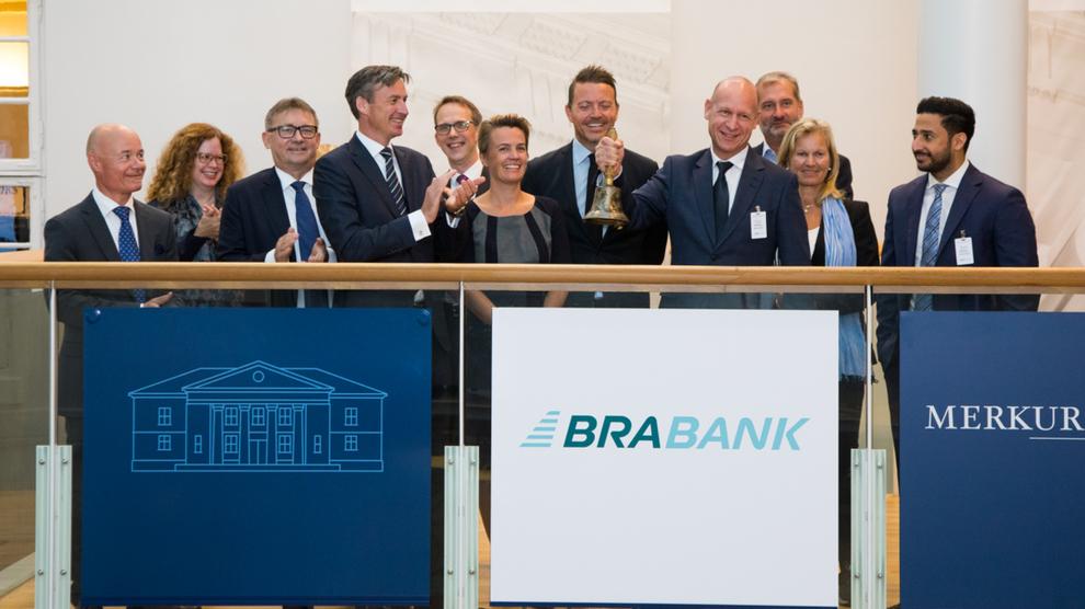 <p><b>BANK</b>: Så sent som i august i fjor ble Brabank notert på Merkur Market.</p>