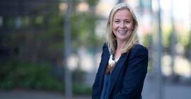 <p>Tone Cecilie Krange, segmentssjef for hytter i DNB Eiendom</p>