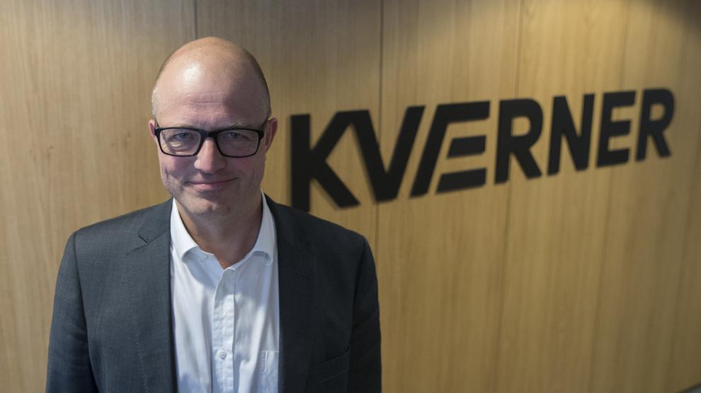 <p><b>OPPRETTHOLDER GUIDING:</b>Kværner-sjef Karl-Petter Løken leverer sterkere resultater i andre kvartal og opprettholder målsettinger om økte inntekter, men foreslår ikke utbytte. Foto: Vidar Ruud / NTB scanpix</p>