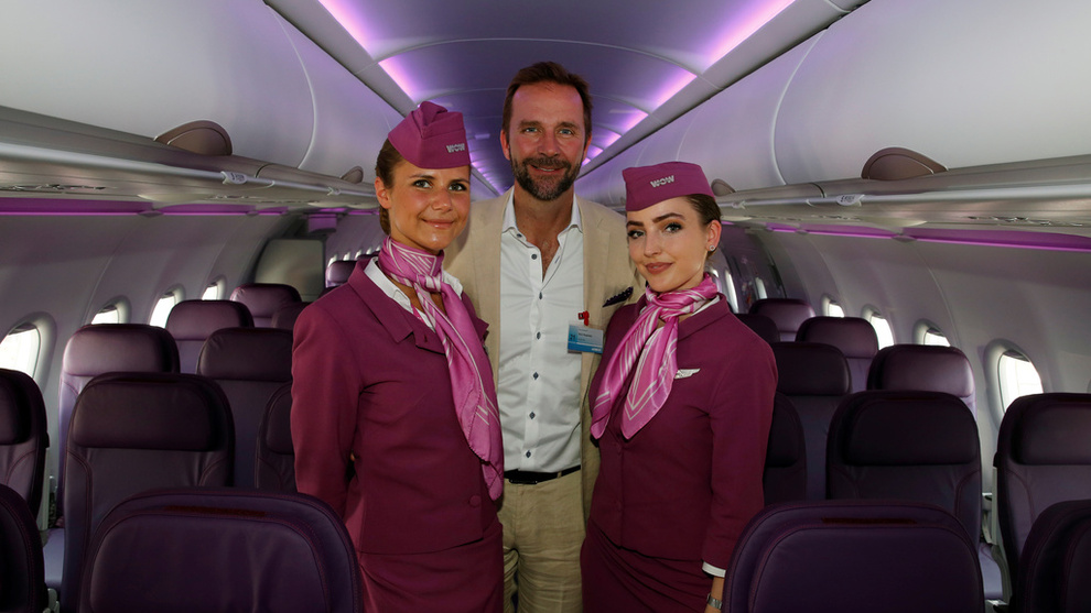 <p>Skuli Mogensen, gründer og konsernsjef i Wow Air, skal i helgen gjøre nok et forsøk på å redde flyselskapet. Arkivbilde.</p>