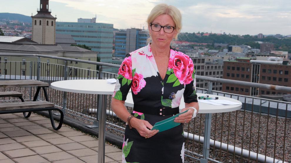 Kristin Færøvik, administrerende direktør i oljeselskapet Lundin Norway