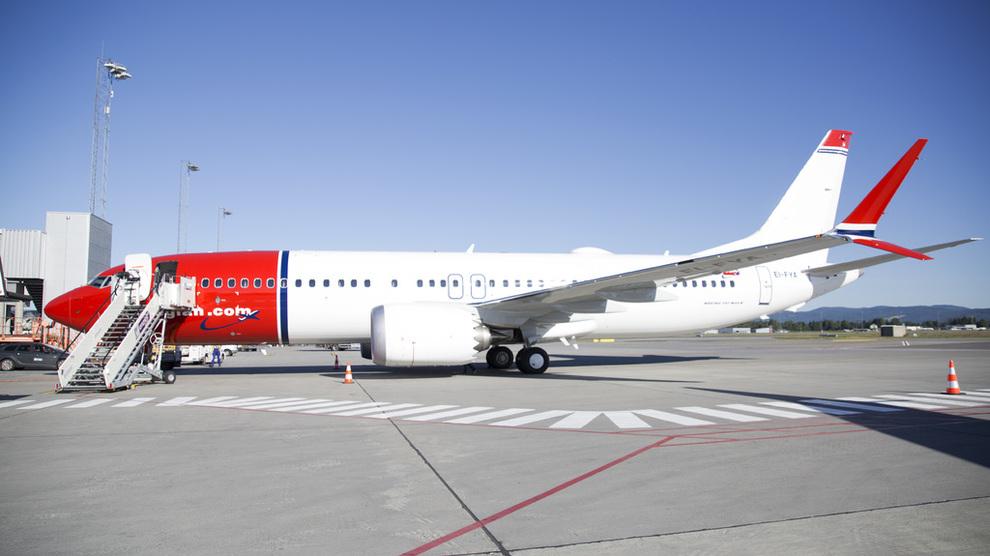 <p><b>KUTTER:</b> Norwegian satset tungt med de nye moderne Boeing 737Max-flyene på ruter til USA, men flere viste seg å være lite lønnsomme. Rutene fra Skottland og Nord-Irland til USA er besluttet lagt ned og flyene skal brukes i Europa i stedet. Bildet er fra Oslo Lufthavn av en 737Max.</p>