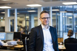 Seniorstrateg Christian Lie i Danske Bank Wealth Management
