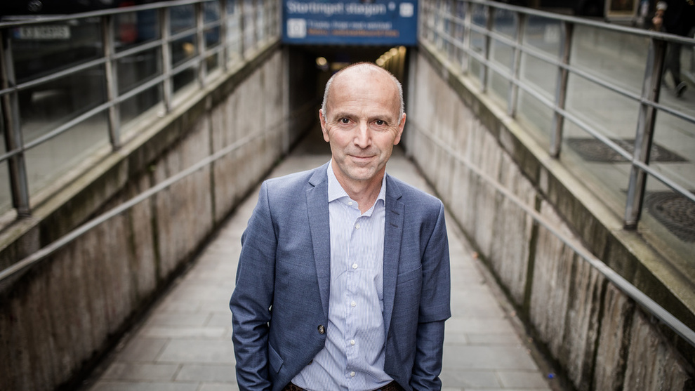 <p><b>UTLEIE-VARSKU:</b> Gunnar Hovland er sjefen for BN Bank og sitter i styret i Huseiernes landsforbund.</p>