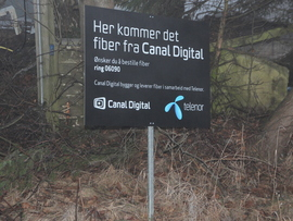 telenor fiber kart Årevis med dragkamper over med ny graveforskrift: Telenor tror  telenor fiber kart