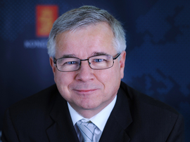 <p>Egil Haugsdal, administrerende direktør i Kongsberg Maritime</p>
