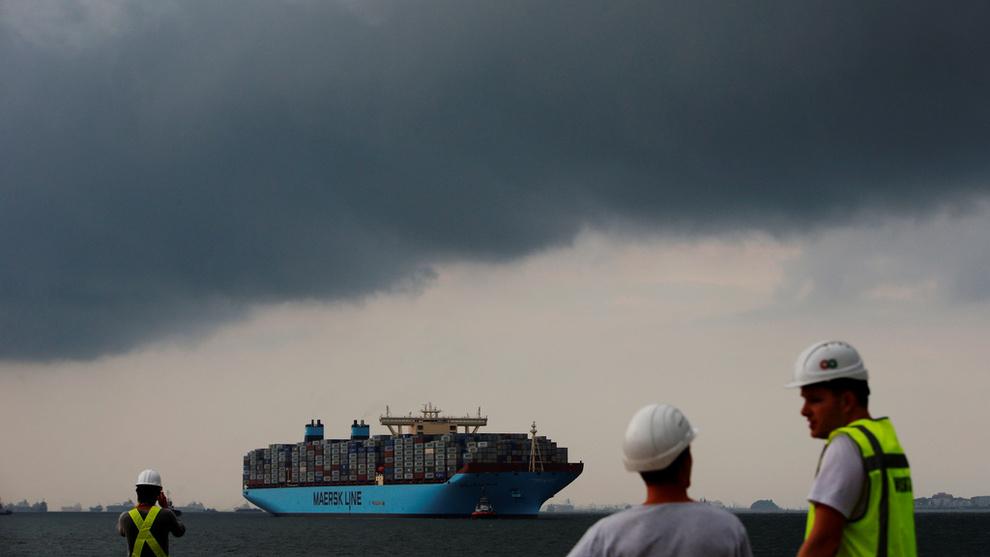<p><b>BLE ANGREPET:</b> Redieriet Maersk var blant selskapene som ble rammet av et omfattende dataangrep i fjor. Det kostet selskapet flere hundre millioner dollar.</p>