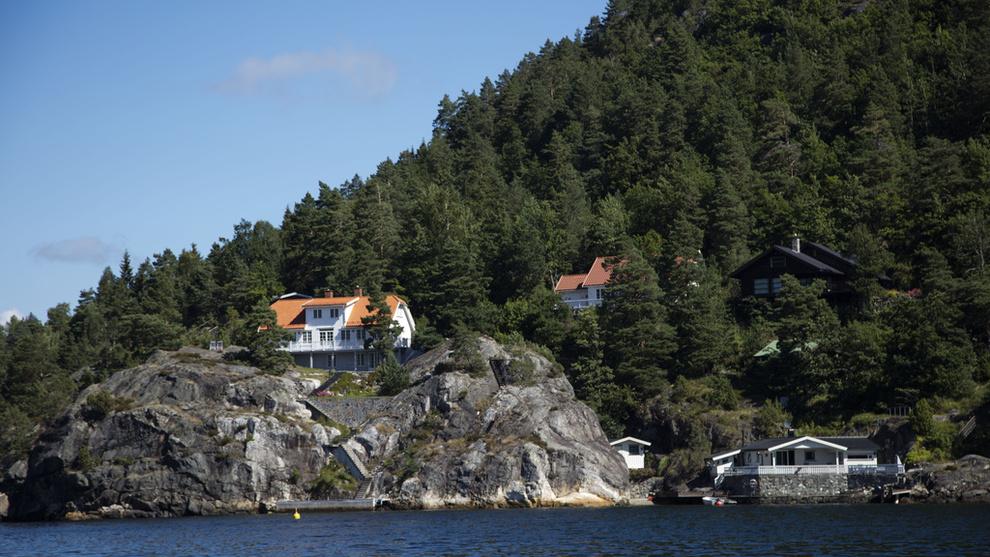 <p><b>BESKJEDEN PRISVEKST:</b> Den gjennomsnittlige hytta ved sjøen i Norge er 2,5 prosent dyrere på ett år. Her fra Kragerø.</p>