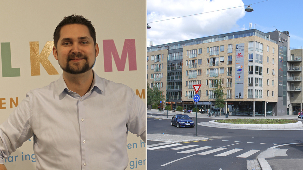 <p><b>EKSPERIMENT:</b> Kolonial.no-sjef Karl Alveng Munthe-Kaas vil friste kundene med lekeland og kaffebar på Alexander Kiellands plass i hovedstaden.</p>