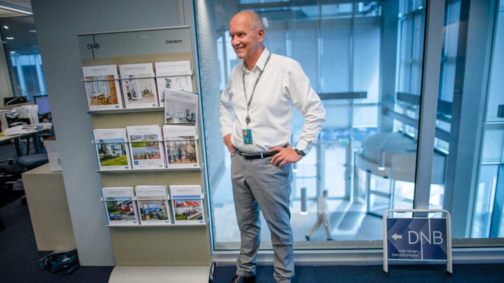 EIENDOMSTOPP: DNB-Eiendom-sjef Terje Buraas forventer ikke at renteøkninger vil påvirke boligprisene på kort sikt.